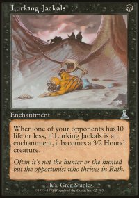 Lurking Jackals - Urza's Destiny