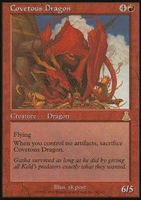 Covetous Dragon - Urza's Destiny
