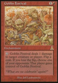 Goblin Festival - Urza's Destiny