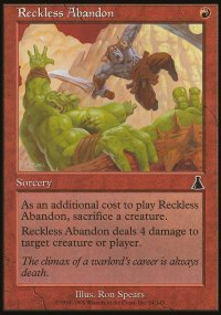 Reckless Abandon - Urza's Destiny