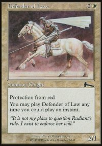 Defender of Law - Urza's Legacy