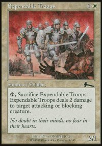 Expendable Troops - Urza's Legacy