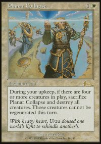 Planar Collapse - Urza's Legacy