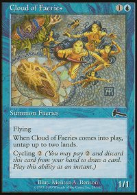 Cloud of Faeries - Urza's Legacy