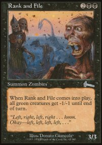 Rank and File - Urza's Legacy