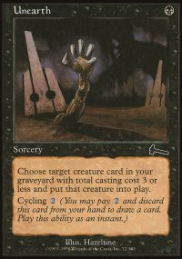 Unearth - Urza's Legacy
