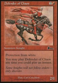 Defender of Chaos - Urza's Legacy