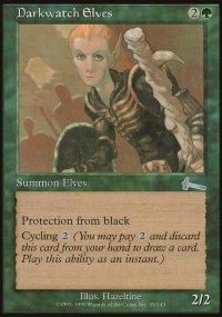 Darkwatch Elves - Urza's Legacy