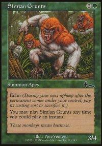 Simian Grunts - Urza's Legacy