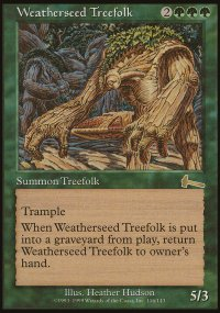 Weatherseed Treefolk - Urza's Legacy