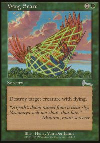 Wing Snare - Urza's Legacy