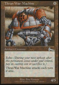 Thran War Machine - Urza's Legacy