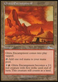 Ghitu Encampment - Urza's Legacy