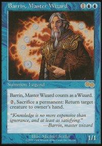 Barrin, Master Wizard - Urza's Saga