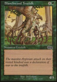 Blanchwood Treefolk - Urza's Saga