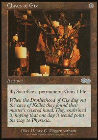 Claws of Gix - Urza's Saga