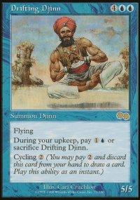 Drifting Djinn - Urza's Saga
