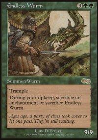 Endless Wurm - Urza's Saga