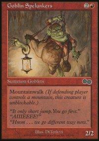 Goblin Spelunkers - Urza's Saga