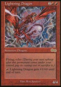 Lightning Dragon - Urza's Saga