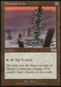 Mishra's Helix - Urza's Saga