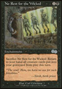 No Rest for the Wicked - Urza's Saga