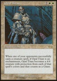 Opal Titan - Urza's Saga