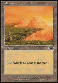 Plains 1 - Urza's Saga