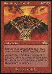 Rumbling Crescendo - Urza's Saga