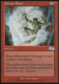 Steam Blast - Urza's Saga