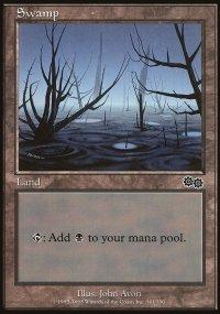 Swamp 3 - Urza's Saga