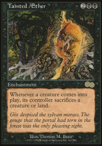 Tainted Aether - Urza's Saga