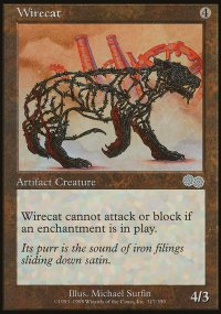 Wirecat - Urza's Saga