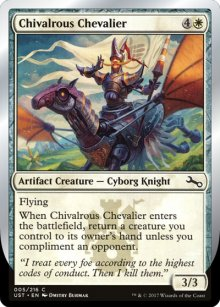 Chivalrous Chevalier - Unstable
