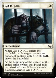 GO TO JAIL - Unstable