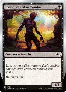 Extremely Slow Zombie 1 - Unstable