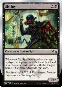 Sly Spy 1 - Unstable