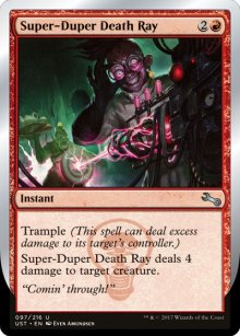 Super-Duper Death Ray - Unstable