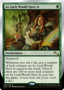 As Luck Would Have It - Unstable