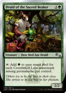 Druid of the Sacred Beaker - Unstable