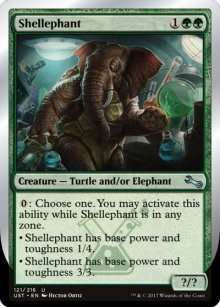 Shellephant - Unstable