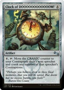 Clock of DOOOOOOOOOOOOM! - Unstable