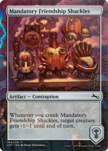 Mandatory Friendship Shackles - Unstable