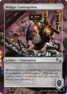 Widget Contraption - Unstable