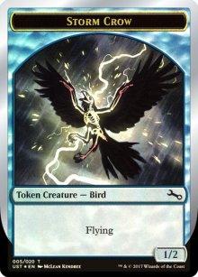 Storm Crow Token - Unstable