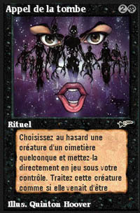 Call from the Grave - Virtual cards