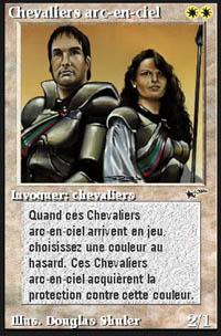 Rainbow Knights - Virtual cards