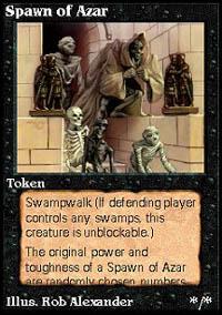 Spawn of Azar - Virtual cards