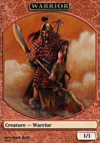 Warrior - Virtual cards