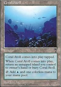 Coral Atoll - Visions